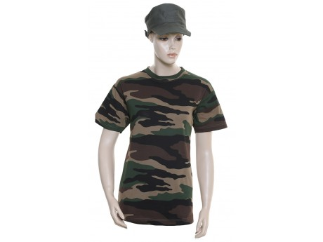 T-Shirt Militaire TS143 Camouflage CE