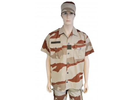 Chemise F2 CH129 Camouflage Désert Ripstop