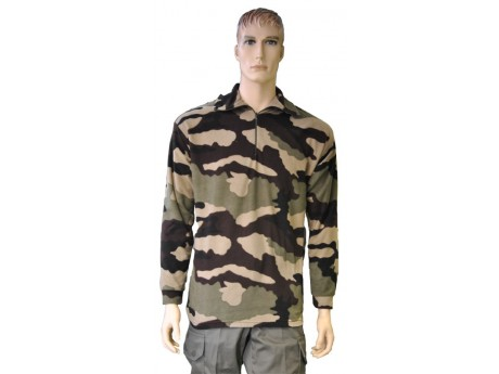 Chemise F1 CH177 Polaire Camouflage CE