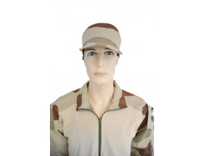 Casquette CA108 Camouflage Désert Ripstop